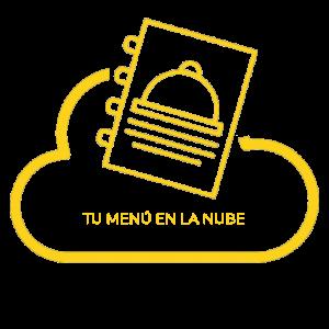 logotipo tu menu en la nube
